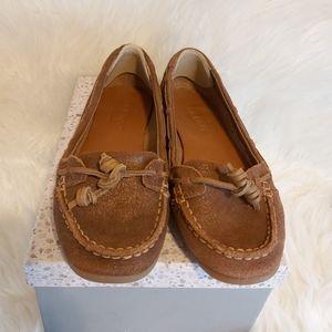 Sebago dockside suede leather loafer Boat Shoe